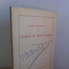 Libros de segunda mano: LIBRO HOMENAJE A RAMÓN Mª.ROCA SASTRE. SEPARATA DEL VOLUMEN I. DEDICADO A JOSE Mª.CARBALLO.. Lote 45815554