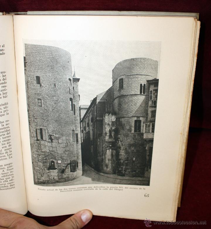 Libros de segunda mano: BARCELONA A TRAVÉS DE LOS TIEMPOS, Ed. Mercedes. 1944. TIRAJE LIMITADO A 1000 EJEMPLARES - Foto 8 - 45818400