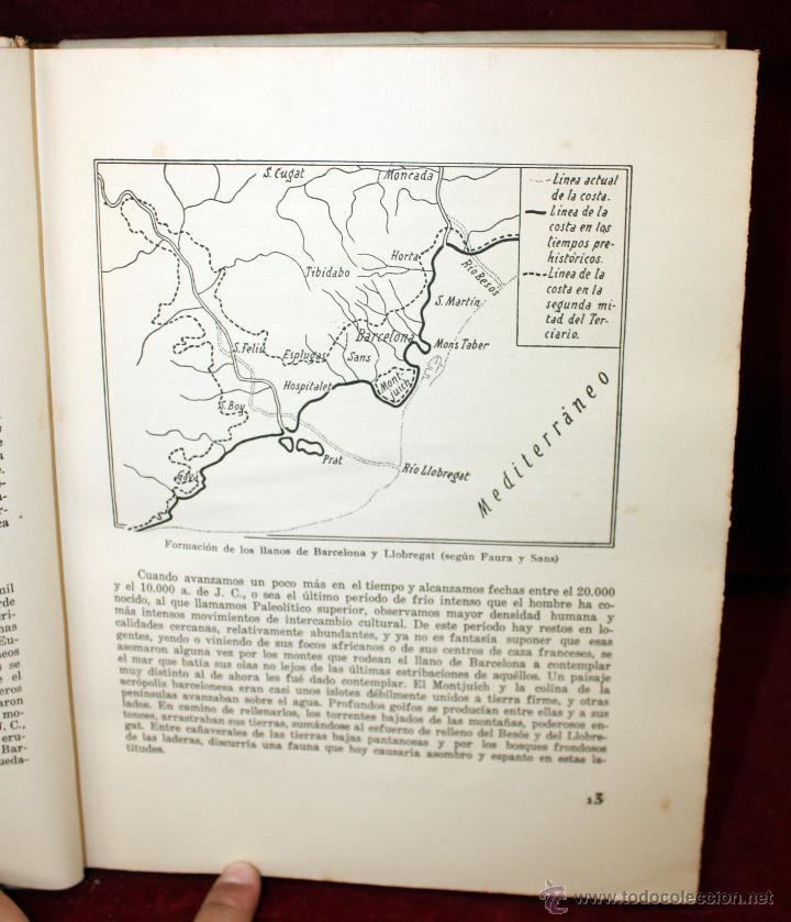 Libros de segunda mano: BARCELONA A TRAVÉS DE LOS TIEMPOS, Ed. Mercedes. 1944. TIRAJE LIMITADO A 1000 EJEMPLARES - Foto 10 - 45818400
