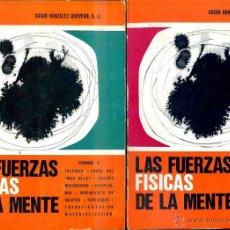 Libros de segunda mano: GONZÁLEZ QUEVEDO : LAS FUERZAS FÍSICAS DE LA MENTE (SAL TERRAE, 1970) DOS TOMOS. Lote 45834066
