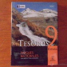 Libros de segunda mano: TESOROS DE ESPAÑA Nº 9 -PARQUES NACIONALES - ESPASA -ABC-ENDESA. Lote 45906568