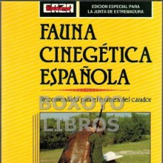 Libros de segunda mano: FAUNA CINEGÉTICA ESPAÑOLA (ESPECIES CAZABLES PERMITIDAS). RECOMENDADO PARA EL EXAMEN DE CAZADOR. Lote 45871110