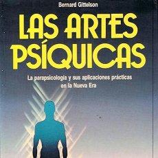 Libros de segunda mano: LAS ARTES PSÍQUICAS BERNARD GITTELSON . Lote 45936308