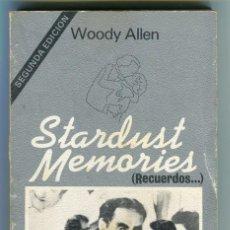 Libros de segunda mano: STARDUST MEMORIES (RECUERDOS) WOODY ALLEN TUSQUETS PAGINAS 153. Lote 45939185