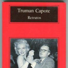 Libros de segunda mano: TRUMAN CAPOTE RETRATOS COMPACTOS ANAGRAMA PAGINAS 165. Lote 45939337