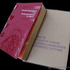 Libros de segunda mano: OSVALDO LAMBORGHINI. TEATRO PROLETARIO DE CÁMARA. 2008. Lote 69714783