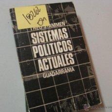 Libros de segunda mano: SISTEMAS POLÍTICOS ACTUALESTHEO STAMMEN2,00. Lote 46064799