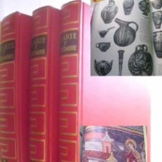 Libros de segunda mano - EL ARTE Y EL HOMBRE (3 volúmenes) HUYGHE, RENÉ. (Dirección) 1969 - 46086444