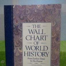 Libros de segunda mano: THE WALL CHART OF WORLD HISTORY: WITH MAPS OF THE WORLD'S GREAT EMPIRES AND A COMPLETE GEOLOGICAL. Lote 46114473