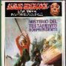 Libros de segunda mano: ALFRED HITCHCOCK, LOS TRES INVESTIGADORES, MISTERIO DEL TESTAMENTO SORPRENDENTE. Lote 46165350