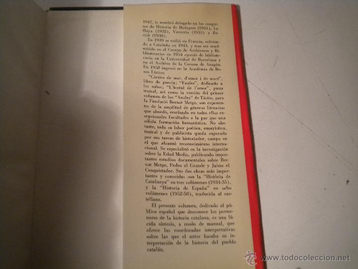 Libros de segunda mano: SÍNTESIS DE HISTORIA DE CATALUÑA - FERRAN SOLDEVILA - Foto 3 - 46175809