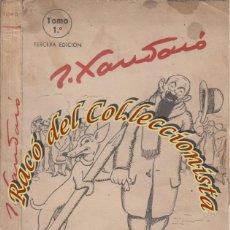 Libros de segunda mano: CHISTES TOMO 1, JOAQUIN XAURADO, EDITORIAL PRENSA ESPAÑOLA, 1945. Lote 46179492