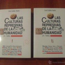Libros de segunda mano: LAS CULTURAS REPRESIVAS DE LA HUMANIDAD, JESUS LALINDE ABADIA, 2 TOMOS OBRA COMPLETA. Lote 46197144