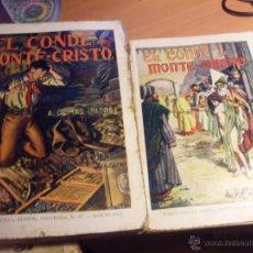 Libros de segunda mano: EL CONDE DE MONTECRISTO (ALEJANDRO DUMAS) RAMON SOPENA 1942 (LB19). Lote 46222637