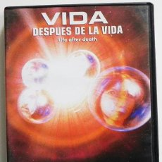 Libros de segunda mano: DVD LA REENCARNACIÓN VIDA DESPUÉS DE VIDA- DOCUMENTAL AÑO CERO MISTERIO MUERTE TESTIMONIOS -NO LIBRO. Lote 46244329