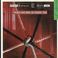 Libros de segunda mano: JON JUARISTI : EL BUCLE MELANCÓLICO. HISTORIAS DE NACIONALISTAS VASCOS. (ED. ESPASA, COL. HOY, 1999). Lote 46316392