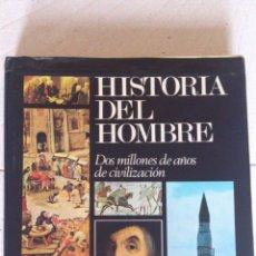 Libros de segunda mano: HISTORIA DEL HOMBRE. Lote 46380221