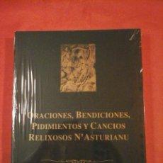 Libros de segunda mano: ORACIONES, BENDICIONES, PRIDIMIENTOS Y CANCIOS RELIXOSOS. ASTURIAS. BABLE. FIERRO BOTAS. Lote 46386685