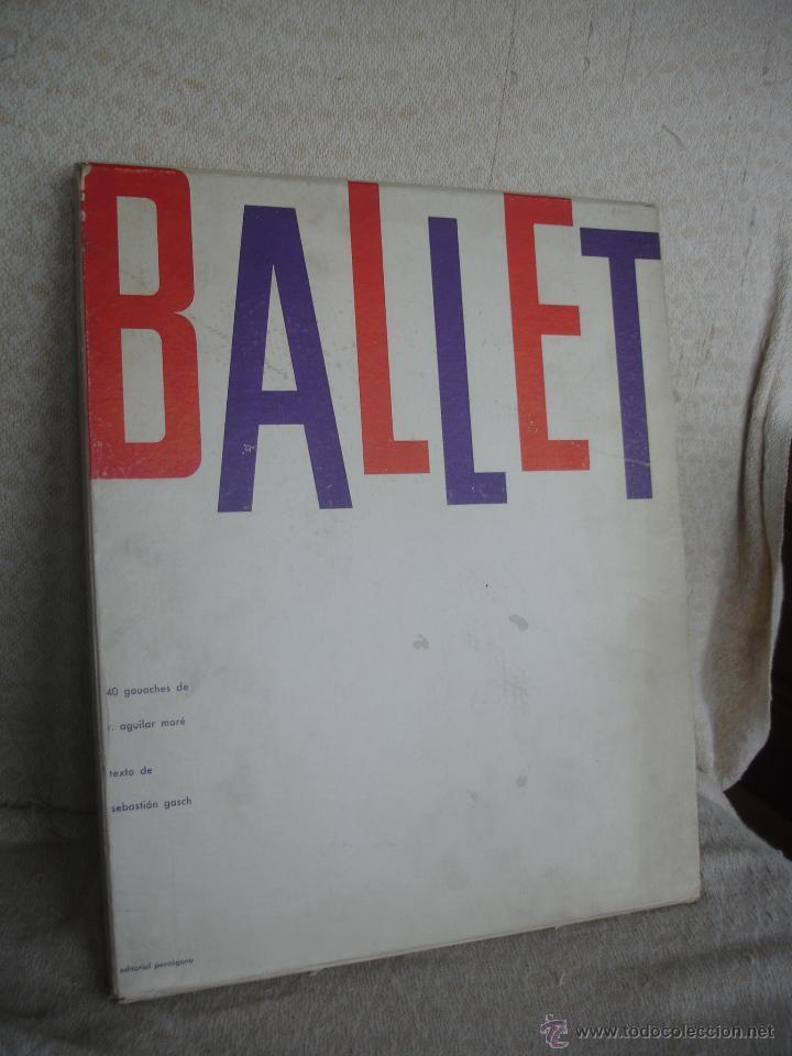 SEBASTIÁN GASCH. BALLET 1958 (Libros de Segunda Mano - Bellas artes, ocio y coleccionismo - Otros)