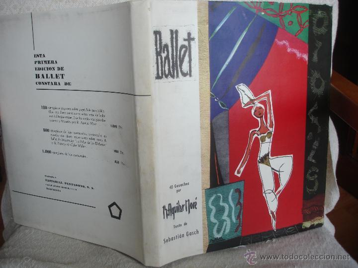 Libros de segunda mano: Sebastián Gasch. Ballet 1958 - Foto 2 - 46401433