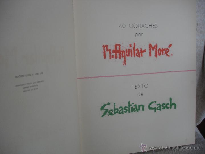 Libros de segunda mano: Sebastián Gasch. Ballet 1958 - Foto 4 - 46401433