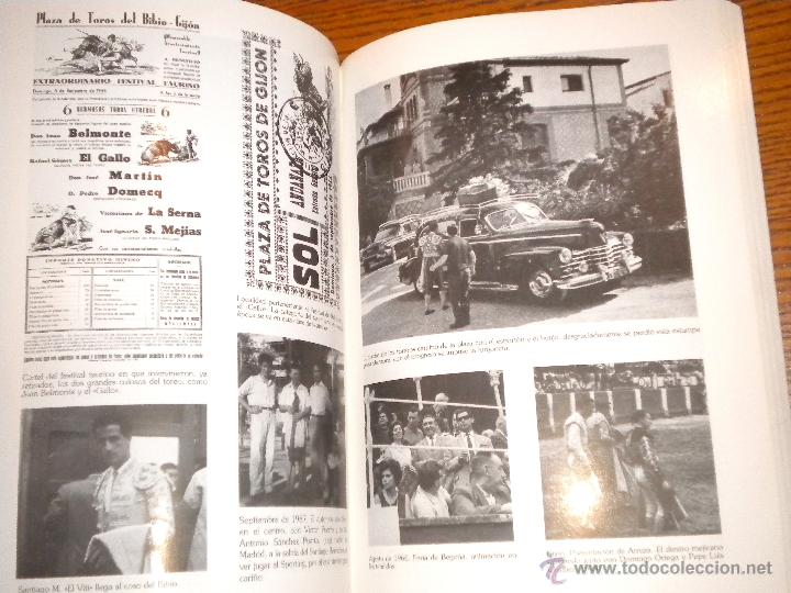 Libros de segunda mano: Gijon Reinauguracion de la plaza de toros del Bilbo, gijon taurino 1888 1988 , 110 años de historia - Foto 2 - 105213278