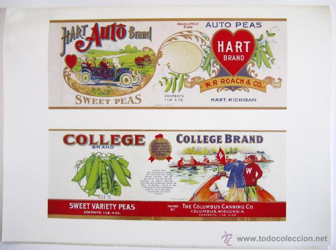 Libros de segunda mano: Gran libro sobre ANTIGUAS ETIQUETAS de productos de alimentación - En inglés - Primera edición, 1982 - Foto 4 - 46410289