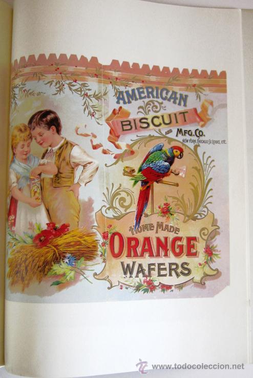 Libros de segunda mano: Gran libro sobre ANTIGUAS ETIQUETAS de productos de alimentación - En inglés - Primera edición, 1982 - Foto 9 - 46410289
