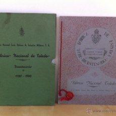 Libros de segunda mano: FÁBRICA NACIONAL DE TOLEDO. BICENTENARIO. 1780-1980. EMP.NAC.SANTA BÁRBARA DE INDUSTRIAS MILITARES.. Lote 46427647