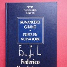 Libros de segunda mano: ROMANCERO GITANO. POETA EN NUEVA YORK. FEDERICO GARCÍA LORCA.. Lote 46432428
