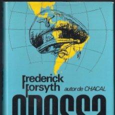 Libros de segunda mano: ODESSA - FREDERICK FORSYTH - CAI/PLAZA & JANÉS 1973. Lote 46439119
