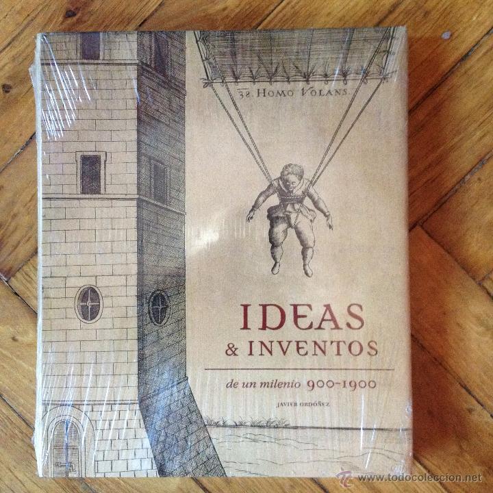 IDEAS & INVENTOS DE UN MILENIO 900-1900 JAVIER ORDOÑEZ (Libros de Segunda Mano - Bellas artes, ocio y coleccionismo - Otros)