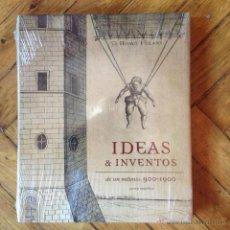 Libros de segunda mano: IDEAS & INVENTOS DE UN MILENIO 900-1900 JAVIER ORDOÑEZ. Lote 46466737