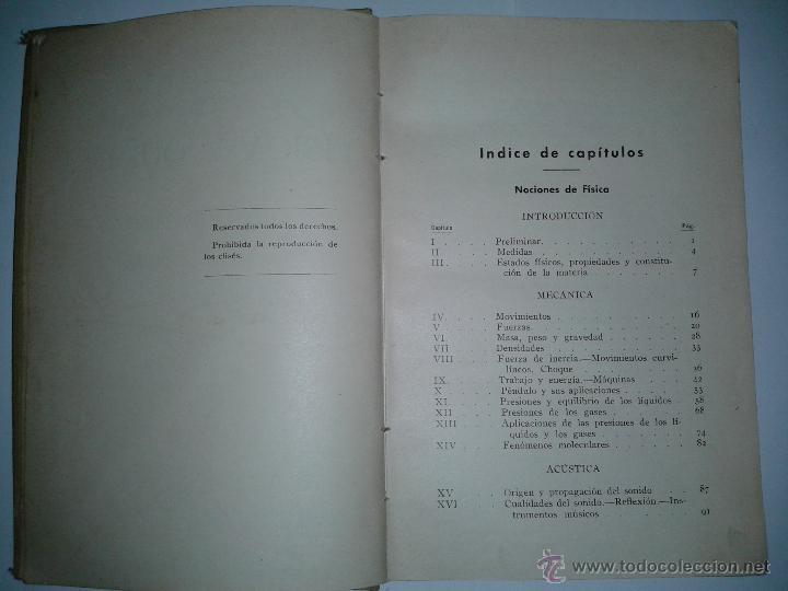 Libros de segunda mano: indice 1 - Foto 3 - 46474099