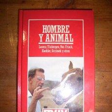 Libros de segunda mano - LORENZ, Konrad. Hombre y animal : Estudios sobre comportamiento - 46477472