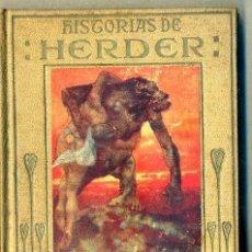 Libros de segunda mano: ARALUCE : HISTORIAS DE HERDER (1942). Lote 46527021