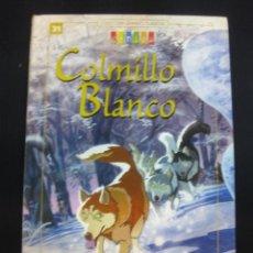 Libros de segunda mano: COLMILLO BLANCO. JACK LONDON. COLECCION GRANDES CLASICOS.. Lote 46579593