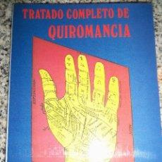 Libros de segunda mano: TRATADO COMPLETO DE QUIROMANCIA, POR LEVI URSICILO - NUEVA ERA - ARGENTINA - 1991 - NUEVO!. Lote 46583413