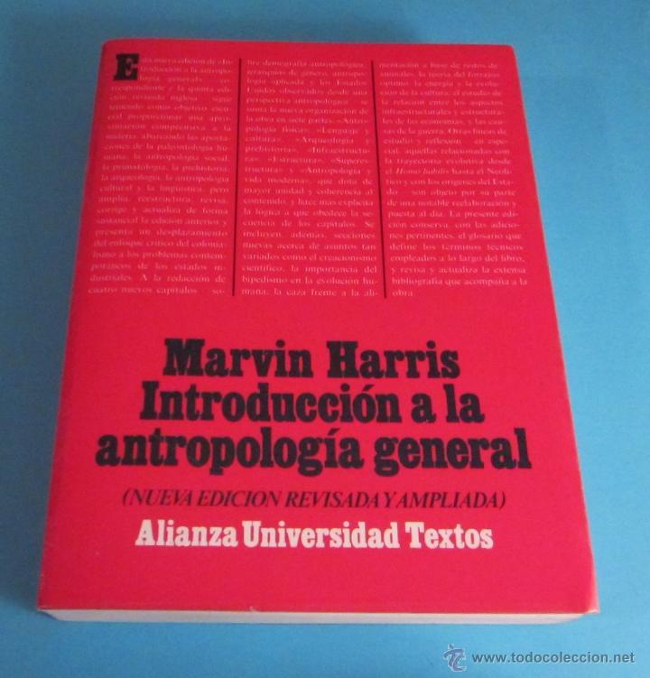 Introduccion a la antropologia general marvin harris