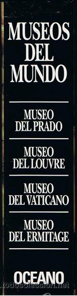 Libros de segunda mano: LOTE DE 4 TOMOS DE MUSEOS DEL MUNDO - Foto 2 - 46630233