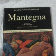 Libros de segunda mano: LA OBRA PICTÓRICA COMPLETA DE MANTEGNA Nº 14 EDITORIAL NOGUER AÑO 1970. Lote 46646781