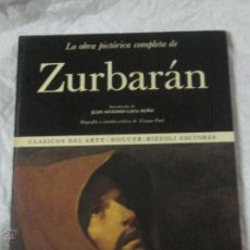 Libros de segunda mano: LA OBRA PICTÓRICA COMPLETA DE ZURBARÁN Nº 41 EDITORIAL NOGUER AÑO 1974. Lote 46646850