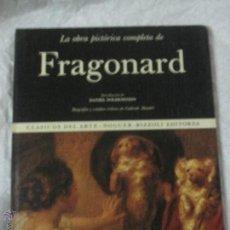 Libros de segunda mano: LA OBRA PICTÓRICA COMPLETA DE FRAGONARD Nº 44 EDITORIAL NOGUER AÑO 1975. Lote 46646935