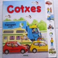 Libros de segunda mano: COTXES. COL.LECCIÓ BUSCA I APRÈN. SUSAETA EDICIONES, SIN FECHA.. Lote 46678919