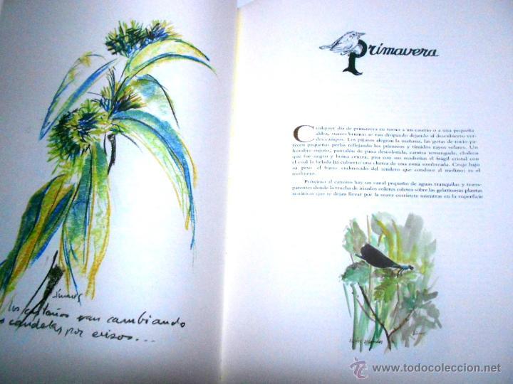Libros de segunda mano: MOLINOS DE AGUA Y MAQUILA POR MANUEL GARCIA LINARES 1988, prol. Julio Caro Baroja, Dedicatoria autor - Foto 3 - 46693930