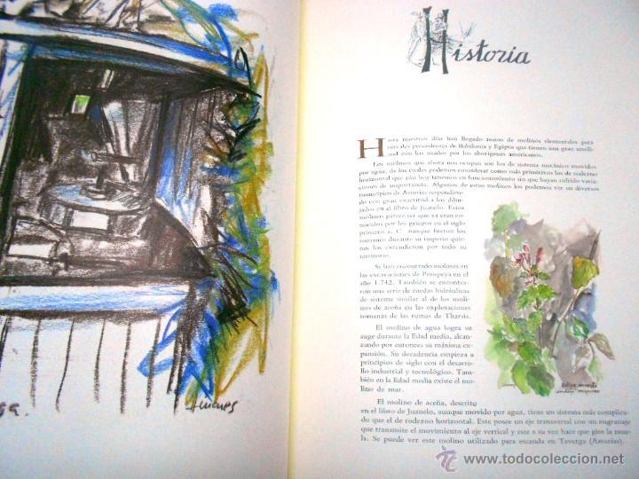 Libros de segunda mano: MOLINOS DE AGUA Y MAQUILA POR MANUEL GARCIA LINARES 1988, prol. Julio Caro Baroja, Dedicatoria autor - Foto 5 - 46693930