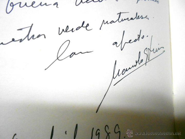Libros de segunda mano: MOLINOS DE AGUA Y MAQUILA POR MANUEL GARCIA LINARES 1988, prol. Julio Caro Baroja, Dedicatoria autor - Foto 16 - 46693930