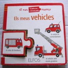 Libros de segunda mano: ELS MEUS VEHICLES. EL MEU TRENCACLOSQUES MAXMIX. EDICIONS ELFOS, 2009.. Lote 46696031