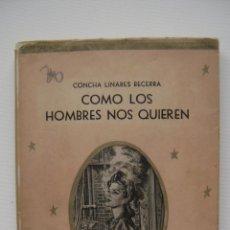 Libros de segunda mano: COMO LOS HOMBRES NOS QUIEREN | CONCHA LINARES BECERRA. Lote 46731765
