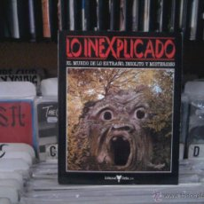 Libros de segunda mano: LO INEXPLICADO VOLUMEN 3, DELTA. Lote 46733529